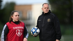 Pat Trehy during a Bohemians women's team training session at Oscar Traynor Centre on Thursday