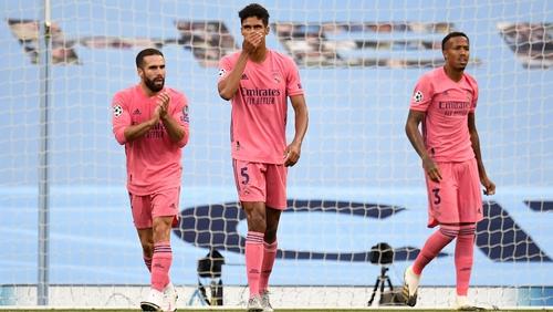 Raphael Varane was at fault for both Man City's goals