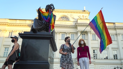 Human rights commissioner calls for release of Polish LGBT activist