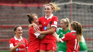 Pearl Slattery struck the first goal of the 2020 WNL season