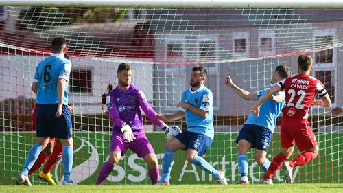 Cawley's goal put Rovers in command