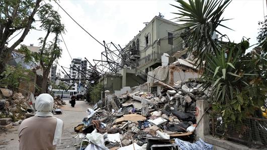 €250m pledged for Lebanon after devastating explosion