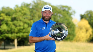 Andy Sullivan recorded four birdies on the back nine to finish on 27 under par and take victory by seven shots