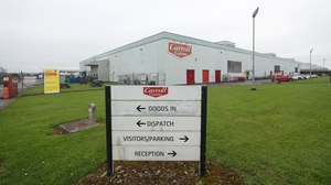 Operations were suspended at the Tullamore plant on 10 August after aspike in Covid-19 cases in the midlands