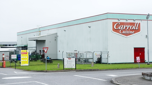 Carroll Cuisine says all tests on 210 workers negative
