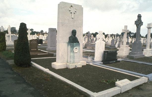 The grave of John McCormack in Deans Grange Cemetery