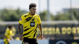 Jadon Sancho looks set to stay with the German outfit
