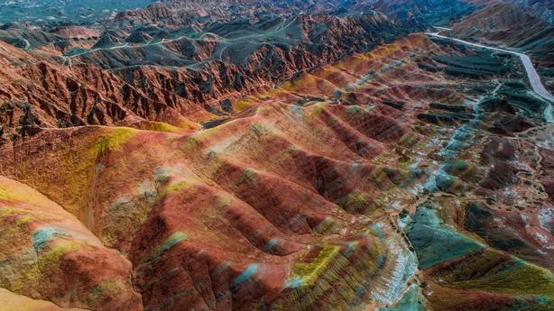 Zhangye Danxia Landform, China (iStock/PA)