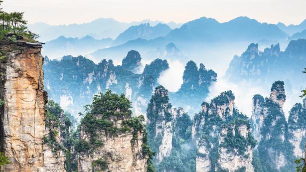 Zhangjiajie Forest, China (iStock/PA)