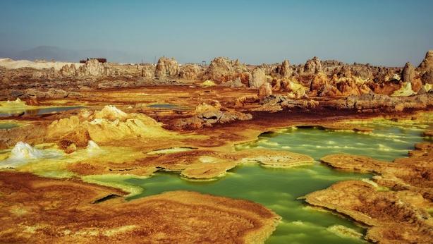 Dallol, Ethiopia (iStock/PA)