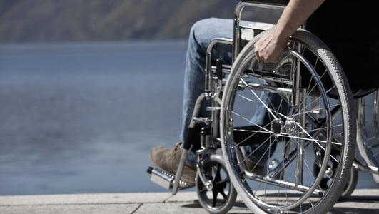 Wheelchair users and new houses to meet their needs