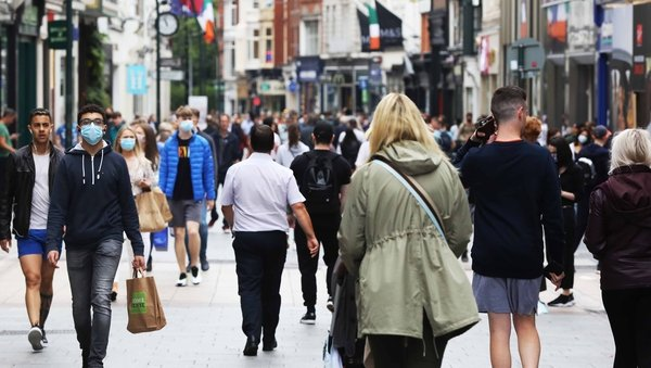 Overall, Ireland's economy is projected to grow by 4.6% in 2021 and 5.0% in 2022