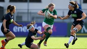Ireland beat Scotland 18-14 earlier this year