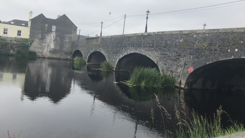 Graiguecullen is located on the Laois/Carlow border
