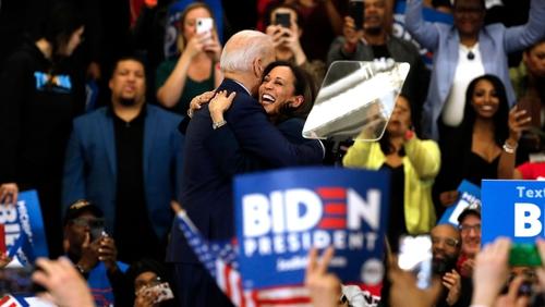Kamala Harris endorsed Joe Biden in March, after ending her own White House run