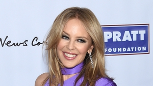 Kylie Minogue spent lockdown cleaning and gardening
