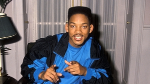 Will Smith with signature hair style on Fresh Prince of Bel-air