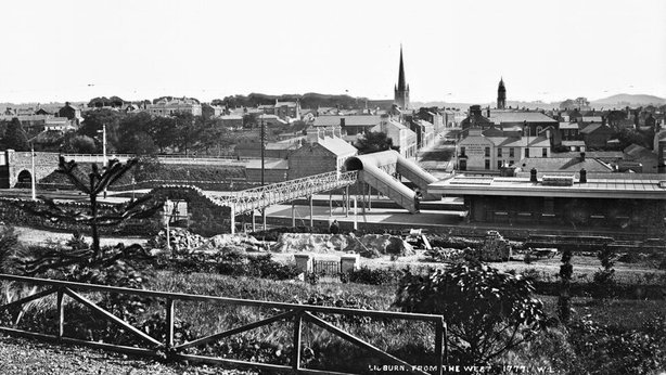 Lisburn, Co. Antrim Photo: National Library of Ireland, L_CAB_01777