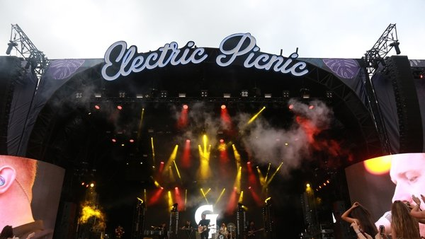 Gavin James performing at Electric Picnic in 2018