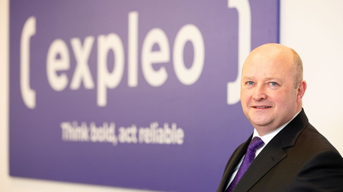 Phil Codd, Managing Director of Expleo Ireland.