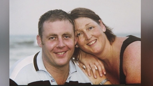 Caroline Donohoe wrote a touching poem about the death of her murdered husband Adrian