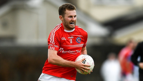 Jack McCaffrey in action for Clontarf
