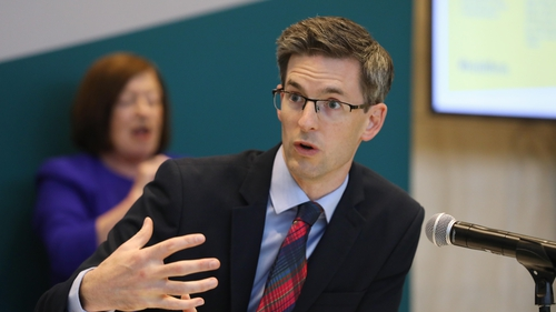 Acting Chief Medical Officer Ronan Glynn remains 'concerned' about the number and distribution of cases
