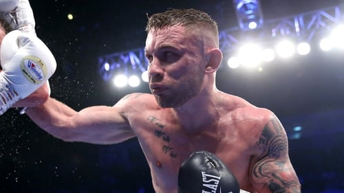 "Carl Frampton: ""I'm sure I'll win the fight and the fight with me and Jamel Herring will be a dream come true."""