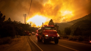 Rapidly-spreading flames scorched some 4,000 hectares within a little more than three hours