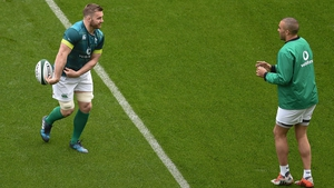 Ireland head coach Andy Farrell has indicated he will continue to only select players based in Ireland for his Test squads