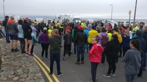 Crowds of volunteers had turned out to help in the search