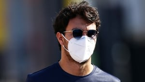 Sergio Perez became the first Formula One driver to go down with coronavirus after he tested positive on the eve of last month's British Grand Prix