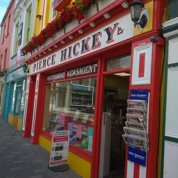 Pierce Hickey in Skibbereen