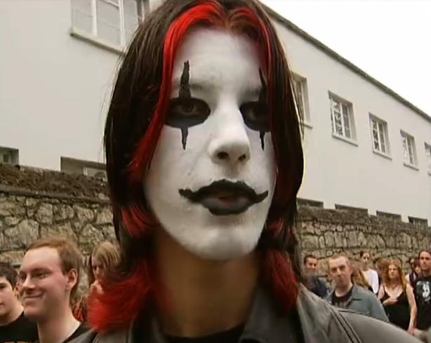 Marilyn Manson fan in Dublin (2005)