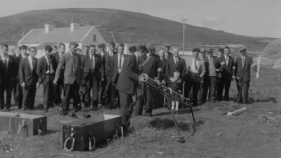 Glenderry Coast Guard Life Saving Service in 1965.