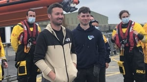 Fisherman Patrick Oliver and his son Morgan saved the lives of two young women in Galway