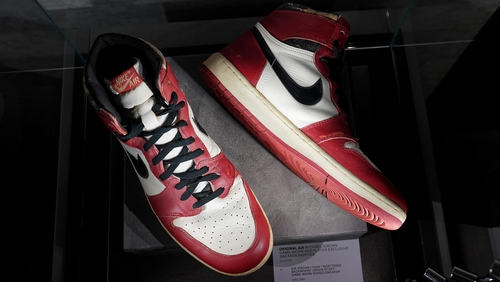 Basketball: Michael Jordan's sneakers sell for US$615000, new record