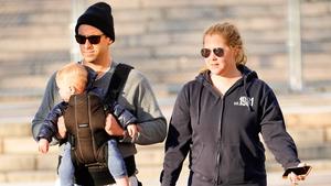 Chris Fischer, Amy Schumer and son Gene