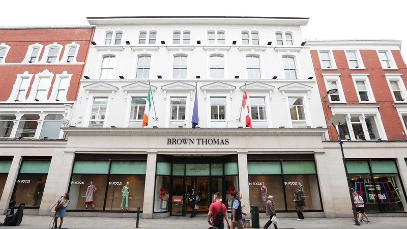 Selfridges owns the Brown Thomas and Arnotts department stores in Ireland