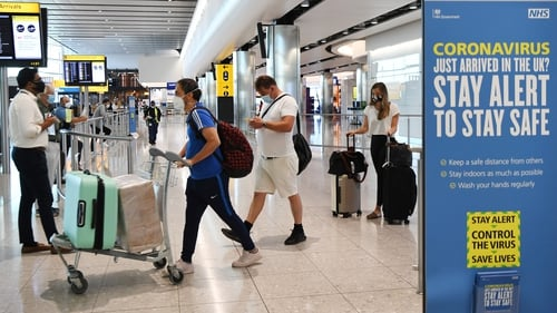 Heathrow said its North American passenger numbers were down 95% compared to last year