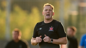 Dundalk manager Vinny Perth