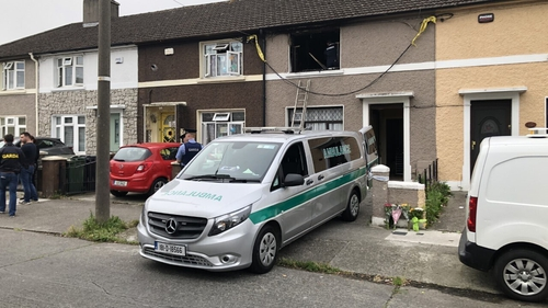 Emergency services were called to the scene in Crumlin last night