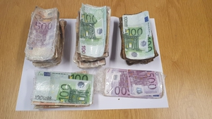€70,000 in cash was seized during the operation