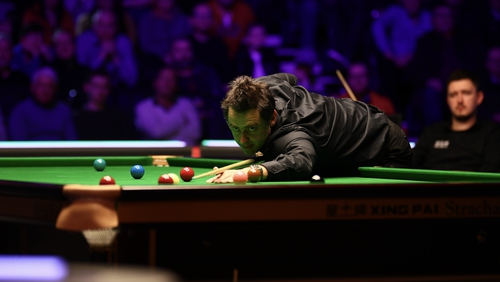 O'Sullivan cut an increasingly frustrated figure throughout the contes