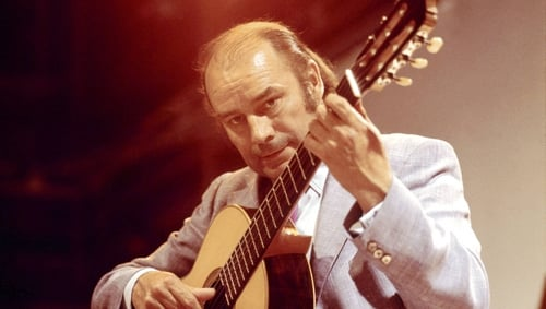 """Julian Bream: """"there was no one else playing classical guitar."""""""