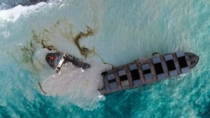 Bulk carrier MV Wakashio ran aground on a coral reef off the southeastern coast of Mauritius on 25 July