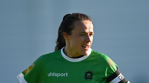 Aine O'Gorman was among the goalscorers for Peamount