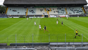 Simonstown Gaels and Skryne in action at Páirc Tailteann at the start of the month