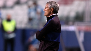 Quique Setien was appointed in January