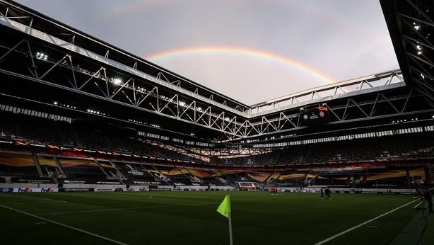Lautaro Martinez and Romelu Lukaku star in Europa League rout